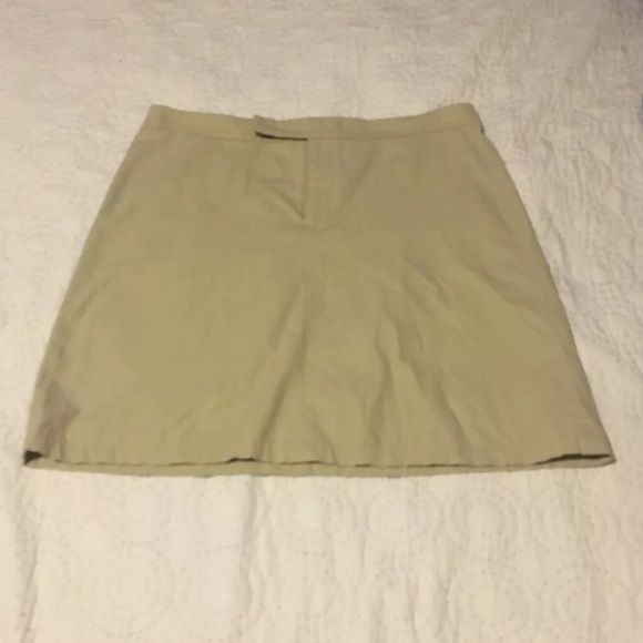 Banana Republic Dresses & Skirts - Banana republic skirt beige size 10 cotton & nylon